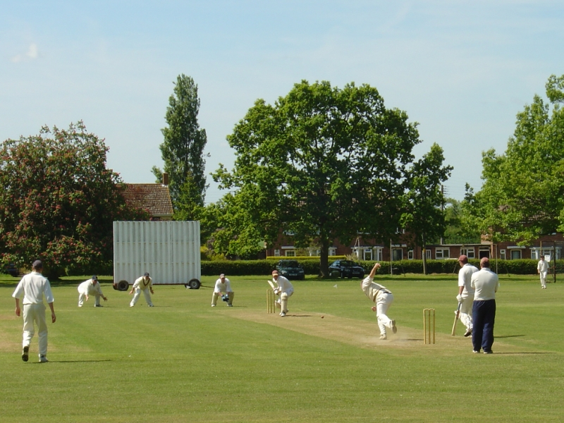 village cricket match A village cricket match is an excerpt from england, their england the story is a study in humor and satire of the village cricket game.