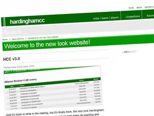 HCC new website